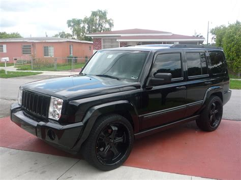Jeep Commander All Black Jeep Commander Price Modifications Pictures Moibibiki