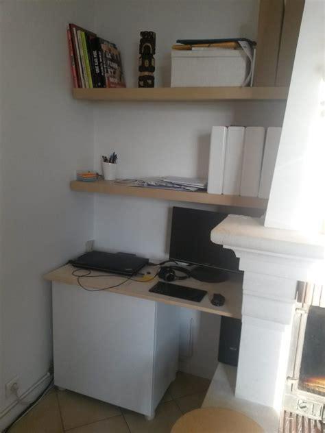 coin bureau salon un coin bureau dans le salon bidouilles ikea