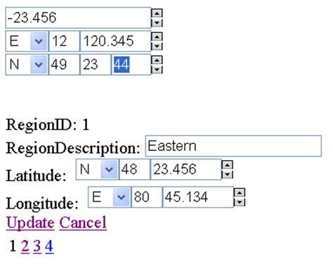 format excel latitude longitude latitude longitude input control an asp net 2 0 server