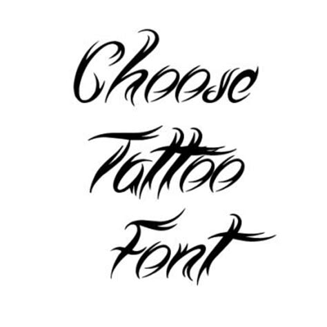 Tribal Fonts For Tattoos Font  Ee  Generator Ee
