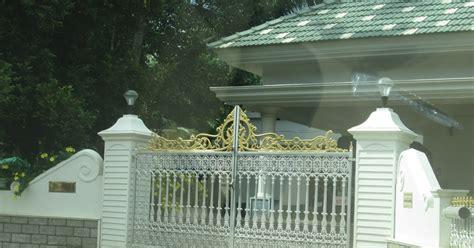 kerala home gates design colour kerala gate designs white gate for white color house in kerala