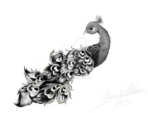 simple peacock tattoo design peacock tattoo design by captkinkster on deviantart