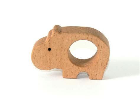 Handmade Wooden Toys - hippo wooden eco friendly handmade wooden toys by