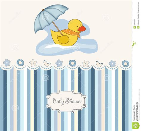 New For Baby Showers by New Baby Boy Shower Card Stock Photos Image 20650883