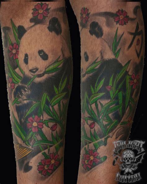 panda tattoo with bamboo panda bamboo tattoo