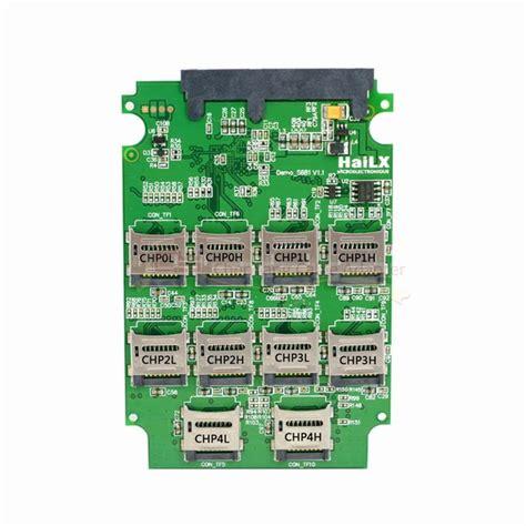 Sd Card To 22 Pin Sata 1 10 x micro sd tf memory card to sata 7 15 22pin adapter card 2 5 quot hdd enclosure with raid 0