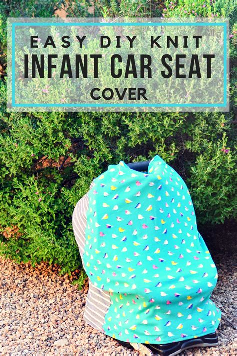 easy diy car seat cover easy diy knit infant car seat cover pink cake plate