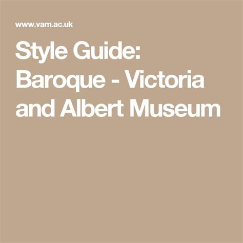 style guide palladianism victoria and albert museum 24 best images about baroque italy france 1600 1700 ce