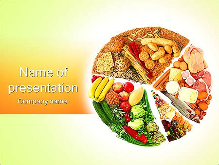 Free Food And Nutrition Powerpoint Templates Nutrition Ftempo Nutrition Powerpoint Template