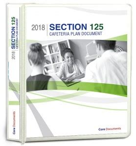 section 125 pop 129 flexible spending account fsa plan documents
