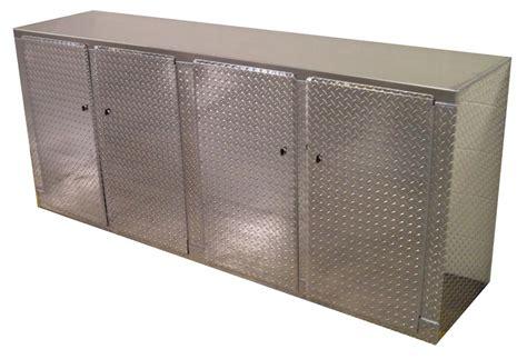 8 foot storage cabinet race enlcosed trailer cabinets