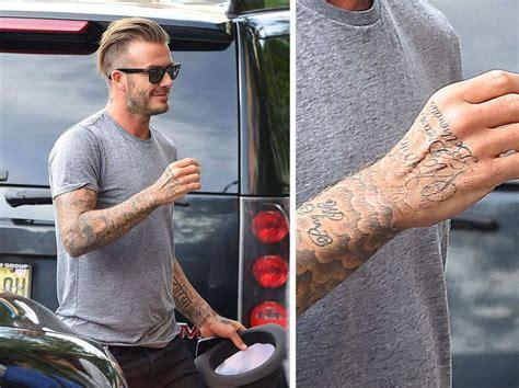beckham new tattoo 2014 consulta tatuajes pes 16 soy leyenda pes 2018
