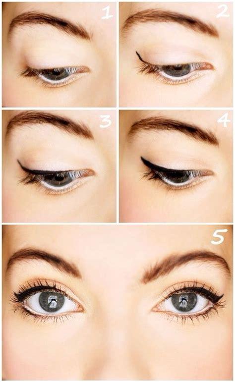 eyeliner tutorial for beginners liquid how to apply eyeliner for beginners beauty pinterest
