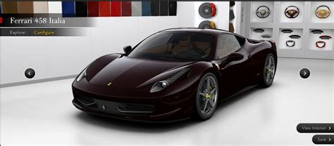 price for 458 pricing for 458 italia leaks out