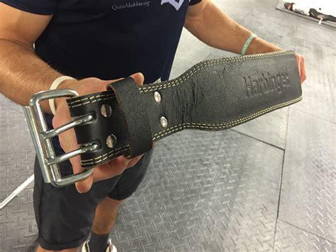 harbinger 4 quot padded leather belt review barbend