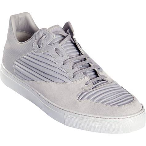 low top balenciaga sneakers balenciaga low top sneakers in gray for grey lyst