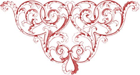 Fairy Garden Art - fantastic scrolls corner ornament images the graphics fairy