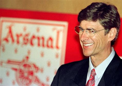 arsenal wenger 20 years of arsene wenger at arsenal facts quotes and an