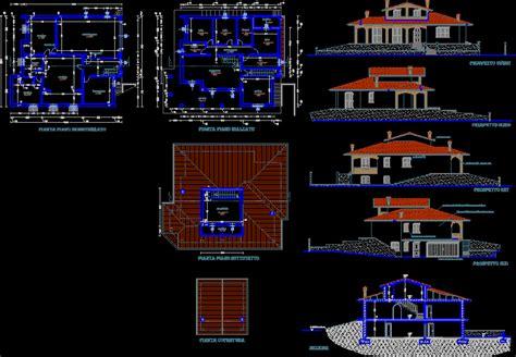villa layout dwg villa dwg plan for autocad designs cad