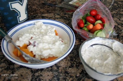 Cottage Cheese Dip For Veggies by Exercise Combo Happy Being Healthy