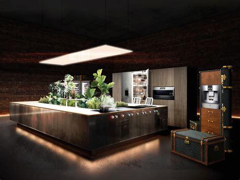 dream penthouse wows   kitchen concept