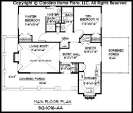 house plans cottage style 171 floor plans small cottage style house plan sg 1016 sq ft affordable
