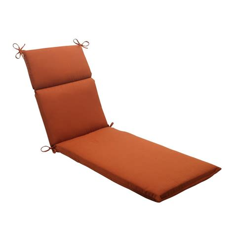 Orange Chaise Lounge Cushions shop pillow cinnabar burnt orange solid cushion for chaise lounge at lowes