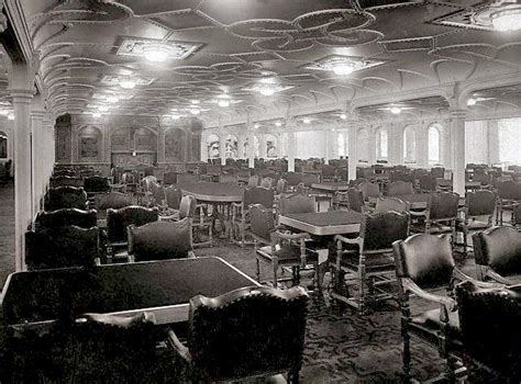dining on the titanic rms olympic s first class dining room rms titanic
