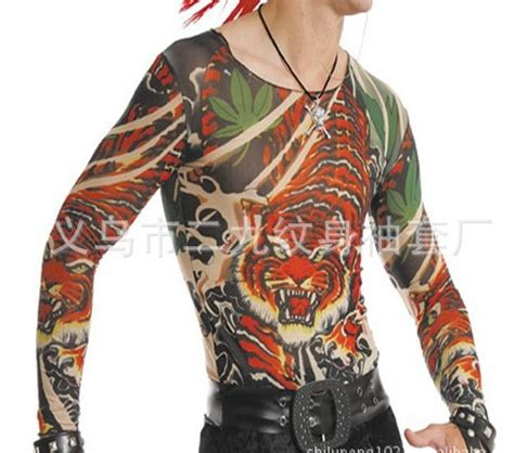 tattoo full body shirt full body tiger tattoo clothing tattoo t shirt both for