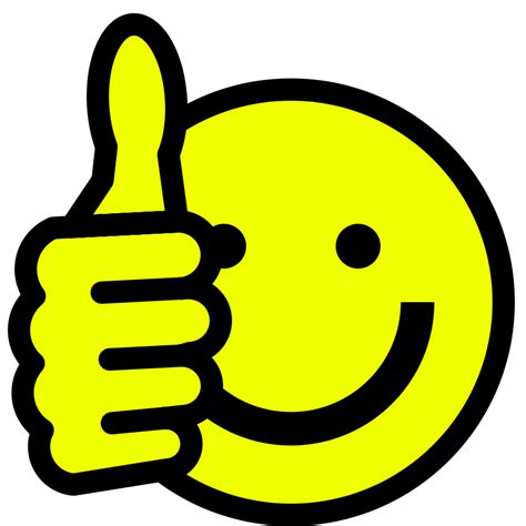 clipart thumbs up smiley thumbs up clipart black and white clipart