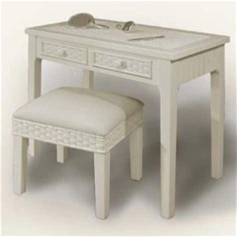 Wicker Vanity Table by Wicker Vanity Dressing Table Vanity Bench Wicker Desk