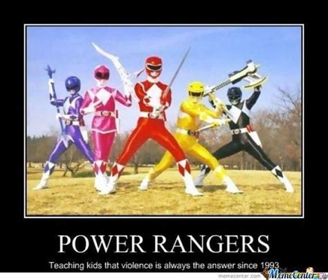 Power Rangers Meme - feel the magic of power rangers memes