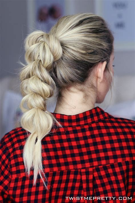 hairstyles  dirty hair twist  pretty