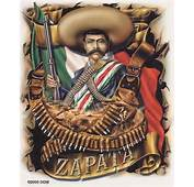 Ultra Rare MEXICAN STICKER/Auto DECAL SET ZAPATA VIVA LA