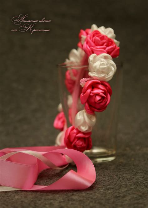 Pp Ribbon Pita 1000 images about flores e acess 211 rios on kanzashi flowers baby headbands and