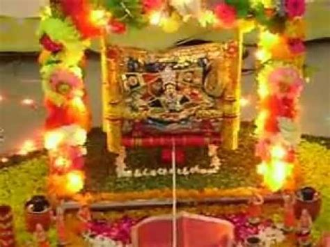 home decoration for janmashtami janmashtami 2012 youtube