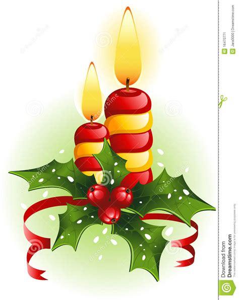 imagenes navidad velas velas y acebo de la navidad imagen de archivo imagen