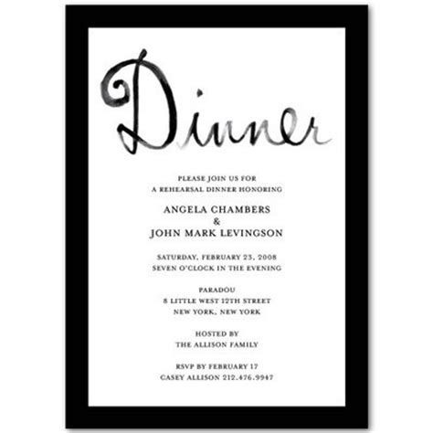 dinner invitation template invitation templates rehearsal dinner http webdesign14