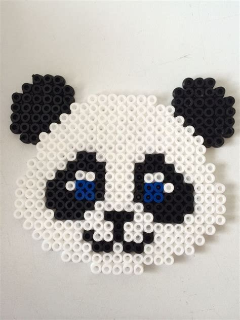 beaded panda b 252 gelperlen panda china perler