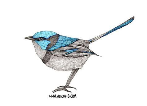 blue wren tattoo designs wren designs