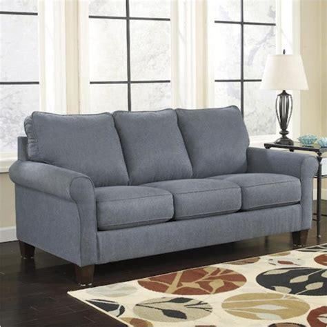 2710139 Ashley Furniture Zeth Denim Queen Sofa Sleeper Denim Sleeper Sofa