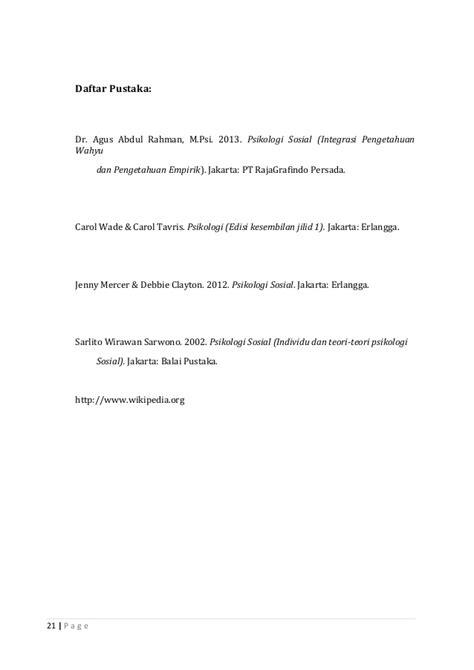 Psikologi Sosial Jilid Ii makalah atribusi sosial