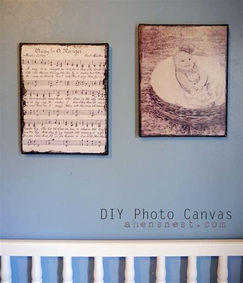 decoupage on canvas ideas decoupage diy printed photo canvas gift idea pixma a hen