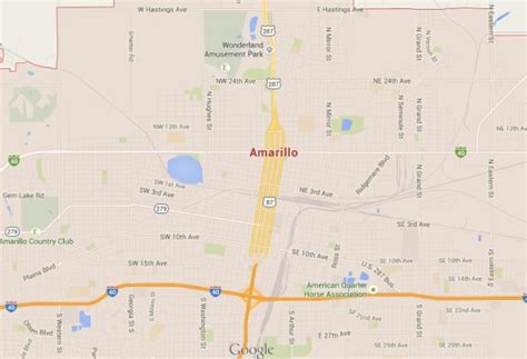 where is amarillo on the map amarillo world easy guides