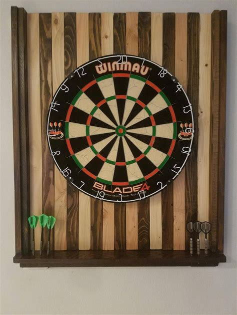 best dart board cabinet combo i made a dart board back board on the cheap