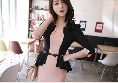 Top Model Terusan Panjang Impor Style dress kerja import cantik model terbaru jual murah