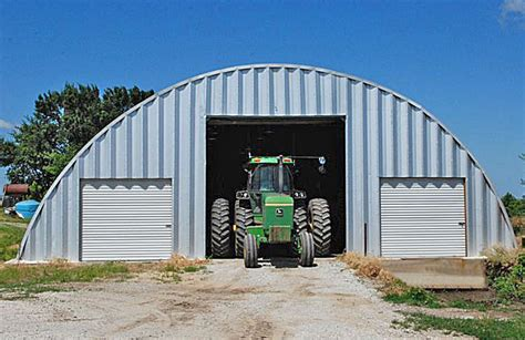 Farm Storage Sheds farm storage quonset buildings made by longlife steel