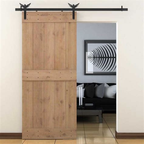 cabinet hardware barn door style winsoon 5 18ft sliding barn door hardware aluminum rollers