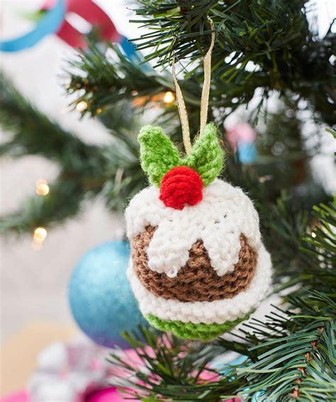 knitting christmas free free tree ornaments knitting patterns