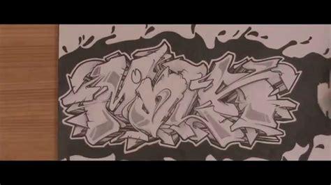 wildstyle graffiti speed drawing sur papier hd